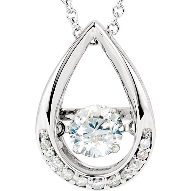 Mystara DiamondTM Diamond in Motion Necklace